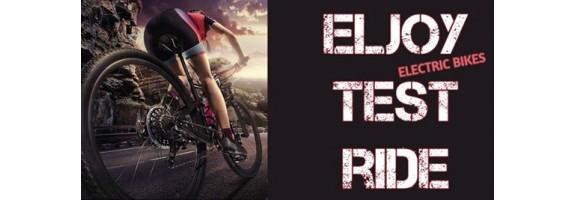 Тест на електрически велосипеди ELJOY bikes, гр. Бургас